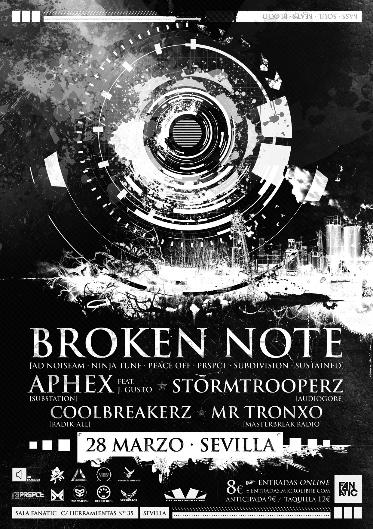 Broken Note en Sevilla